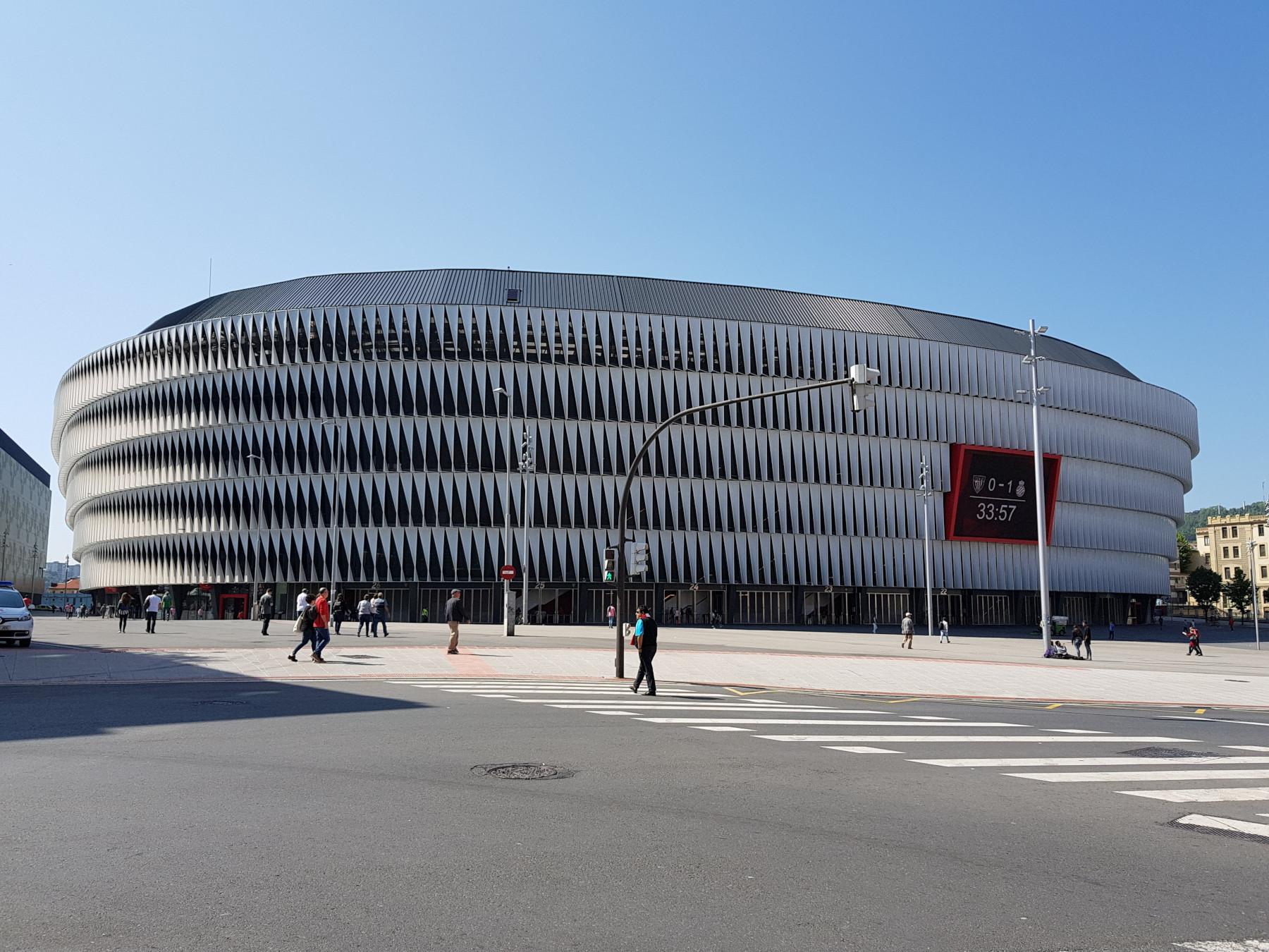 cтадион Сан-Мамес в Бильбао