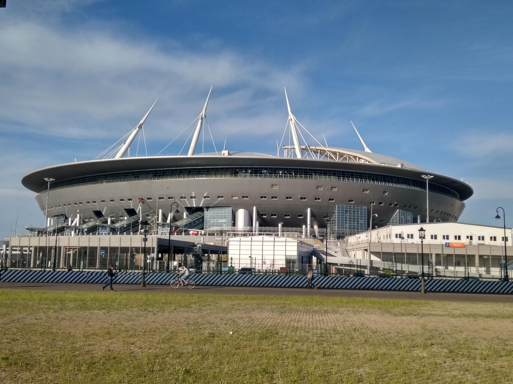 Газпром Арена в Санкт-Петербурге