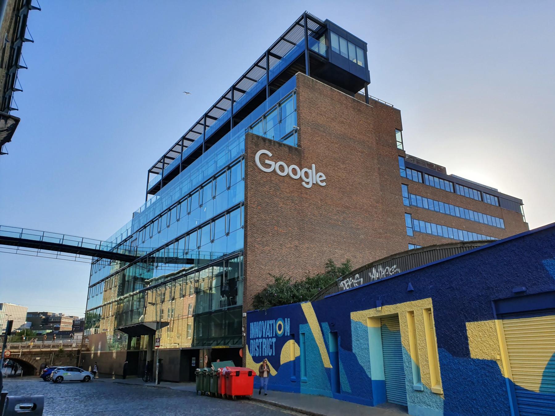 Google в Дублине