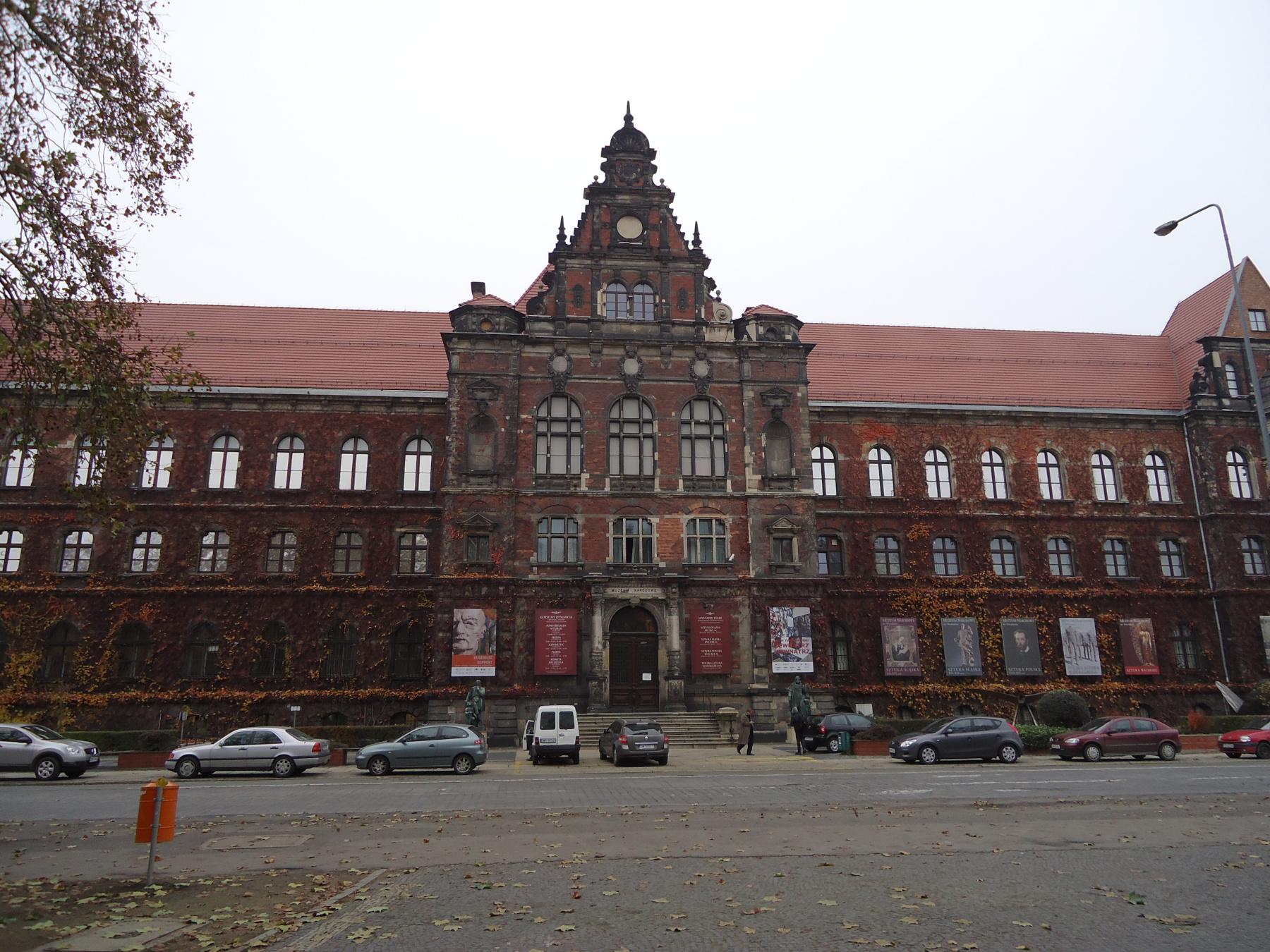 Национальный музей (Muzeum Narodowe) во Вроцлаве