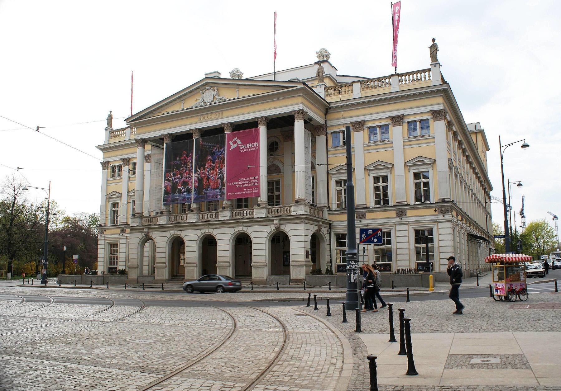 здание Вроцлавской оперы (Opera Wrocławska)