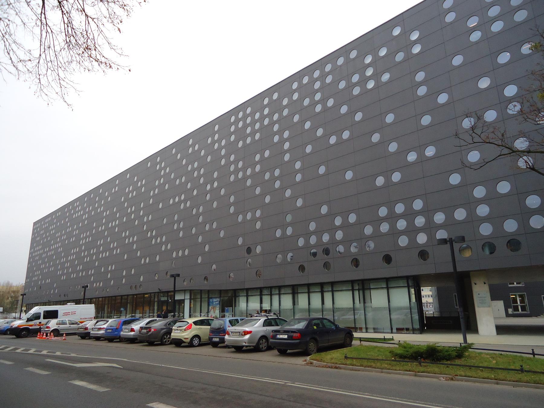 интересные строения Вроцлавского технологического университета (Politechnika Wrocławska)