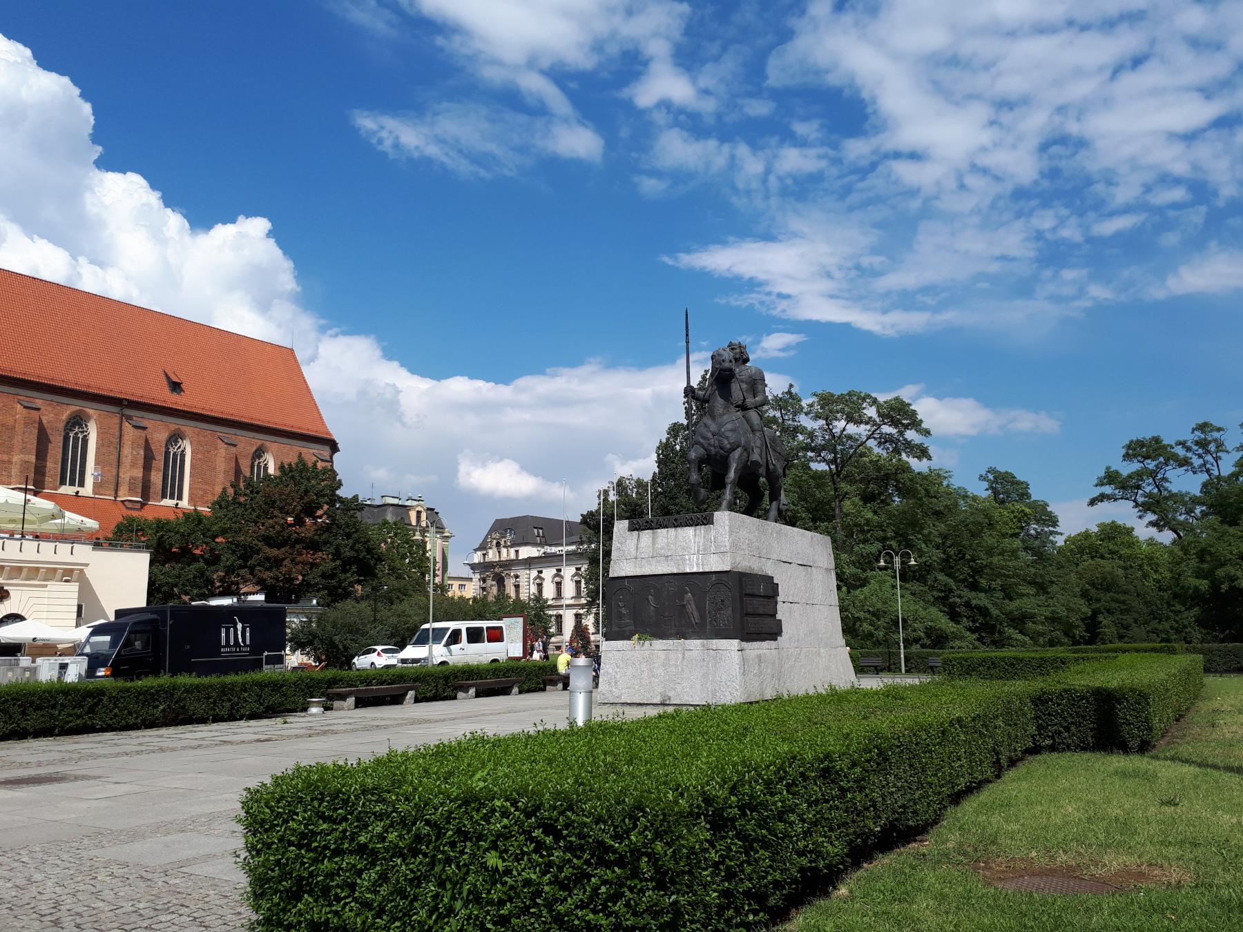 скульптура Болеслава I Храброго (Boleslaw I Chrobry)
