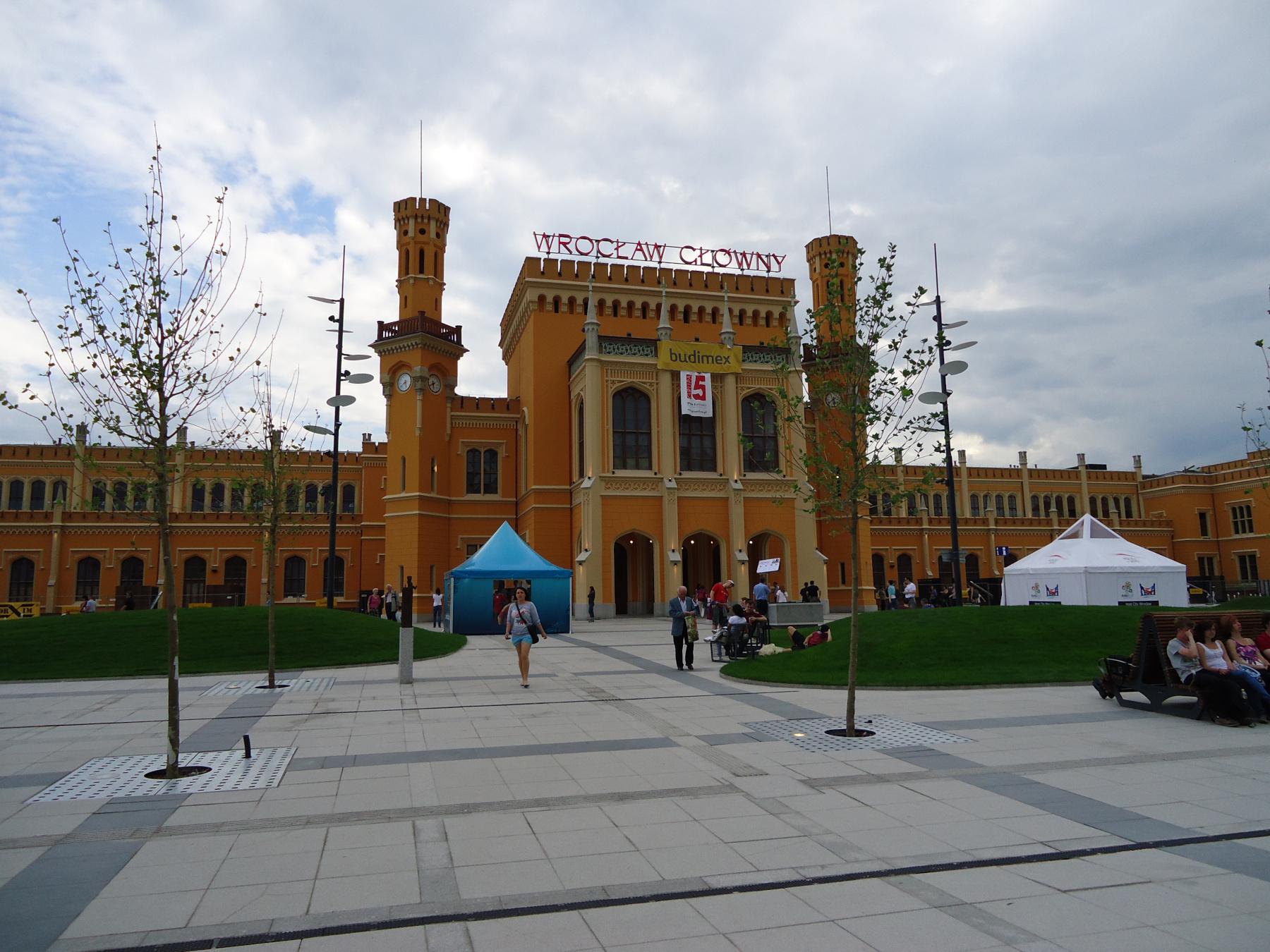 железнодорожный вокзал - Вроцлав-Главный (Wroclaw Glowny)